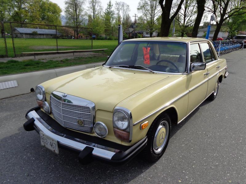 1974 Mercedes 240D, 3.0
